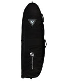SHORTBOARD QUAD WHEELY : BLACK CHARCOAL