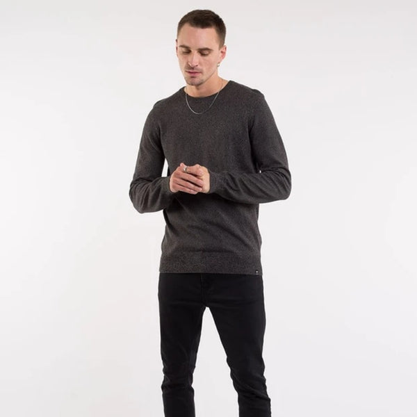 Fubar Knitted Crew Black