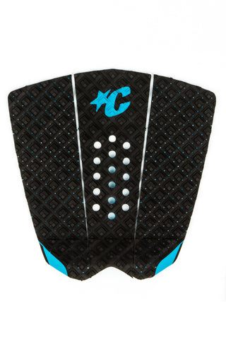 GRIFFIN COLAPINTO TRACTION: BLACK/CYAN