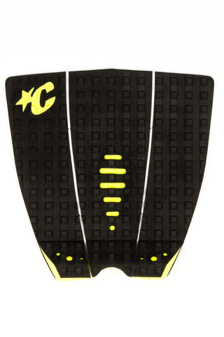 MICK FANNING TRACTION : BLACK/CITRUS