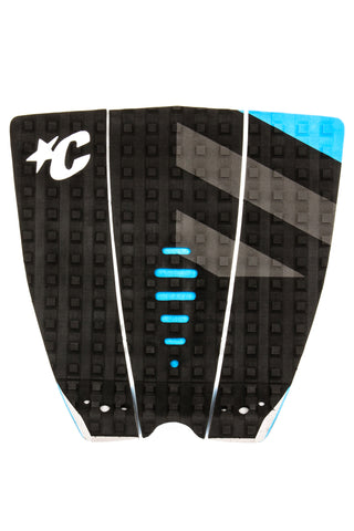 MICK FANNING TRACTION: BLACK/GREY/CYAN