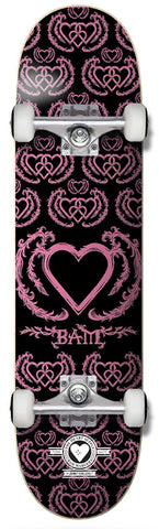 Heart Supply United  Bam Margera Pro Complete Black/Pink 8""