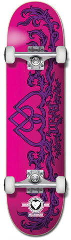 Heart Supply Bam Margera Bamly Pro Complete Pink/Purple 7.75""