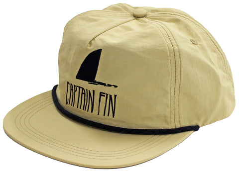 Shark Fin 5 Panel Hat Khaki