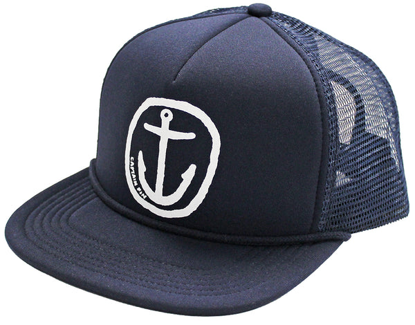 Neuvo Anchor Foam Trucker White/Navy (CFA5531604.NVW)