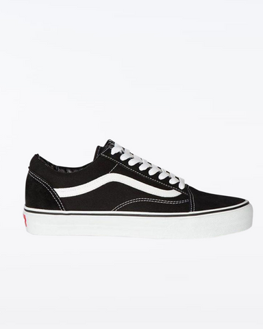 VANS OLD SKOOL KIDS BLACK/ TRUE WHITE