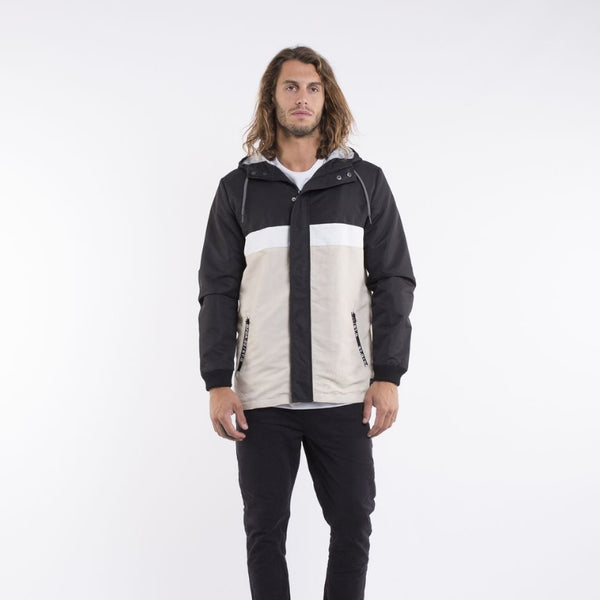 Void Hooded Jacket Black