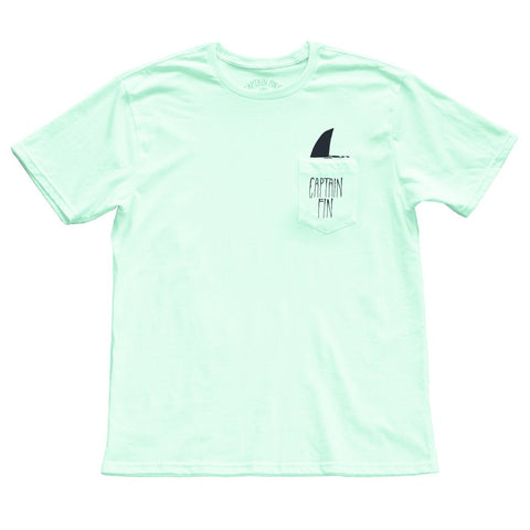 SHARK FIN POCKET TEE