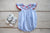Girls Smocked Flag Bubble