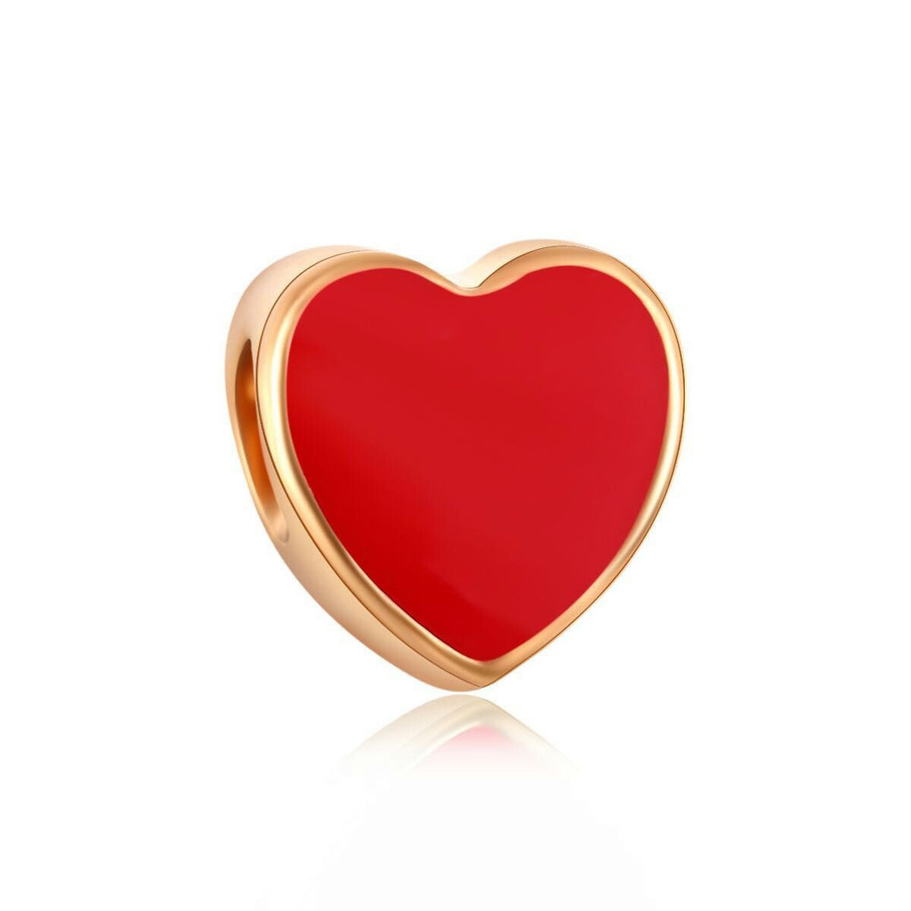 18k Gold Color Heart Emoji Charm By Emoji Bracelet