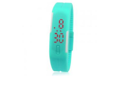 Ultra Thin Unisex Sports Silicone Digital LED Sports Wrist Watch
