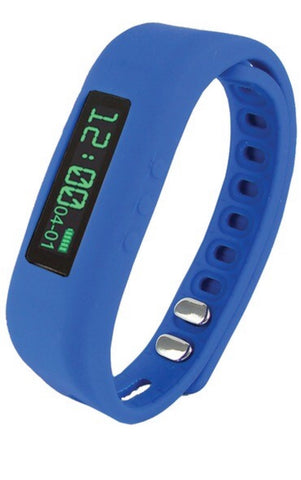 Supersonic SC-62SW BLUE Bluetooth® Smart Wristband Fitness Tracker