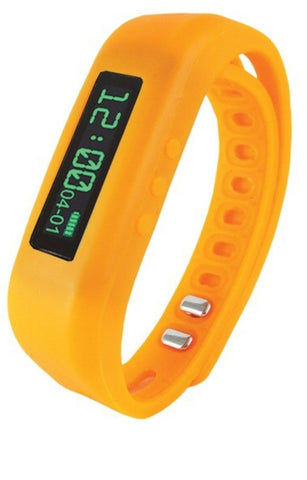 Supersonic SC-62SW ORANGE Bluetooth® Smart Wristband Fitness Tracker