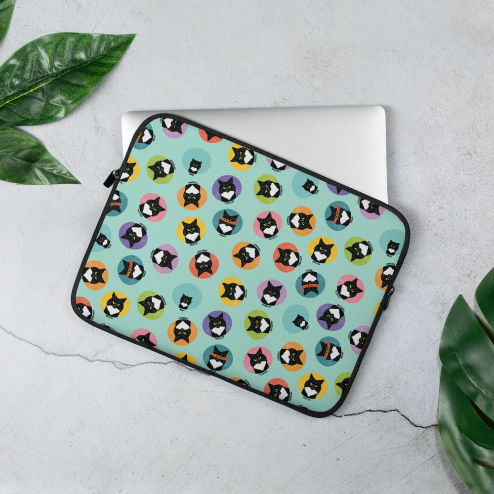 The Many Moods of Midge Laptop Sleeve