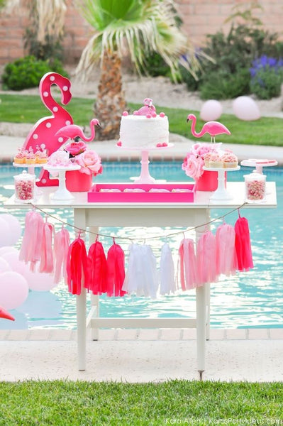 Pink Flamingo Theme Party