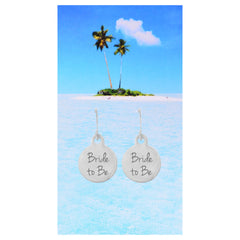 Bride To Be Earrings