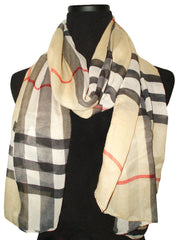 Chic Stripe Infinity Long Scarf- All Seasons Scarf