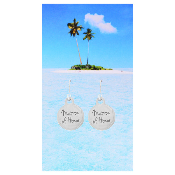 Matron of Honor Earrings