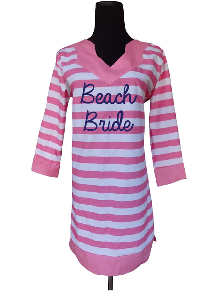 Beach Wedding Tunic Dress-Choose Your Color