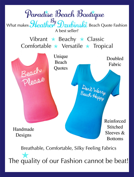 Beach Quote Fashion Quality