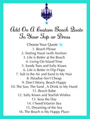 Add On Beach Quote