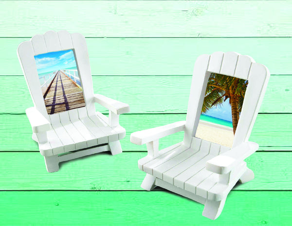 Mini Adirondack Chair Photo Frames-Choose Your Color