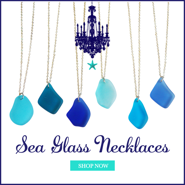 Sea Glass Necklaces-Choose Your Color