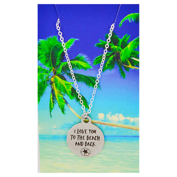 Love You to the Beach and Back Necklaces