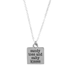 Sandy Toes  and Salty Kisses Necklaces