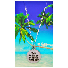 Beach Necklaces-Choose Your Quote