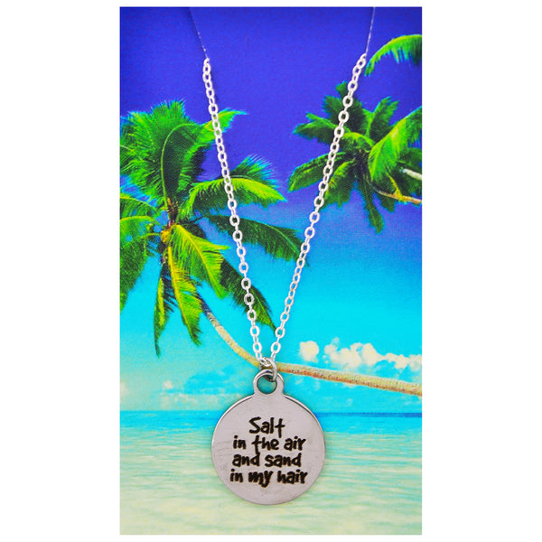 Salt in the Air Sand in My Hair Necklaces