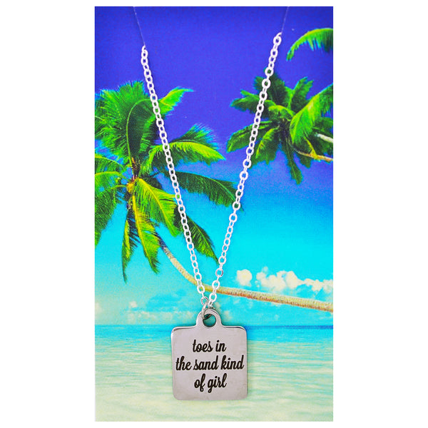 Toes in the Sand Kind of Girl Necklaces