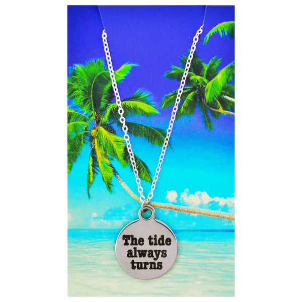 The Tide Always Turns Necklaces