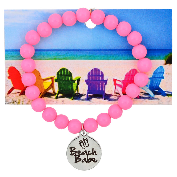 Beach Babe Beaded Bracelet