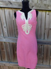 LILLY PULITZER JANICE SHIFT DRESS SIZE 8  SOLD OUT