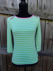 LILLY PULITZER PREPPY TOP SIZE XS
