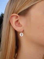 Monogram Statement Earrings