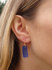 Aqua Cabana Seaglass Earrings