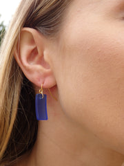 Light Aqua Cabana Seaglass Earrings