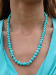 Turquoise Seas Beaded Necklace