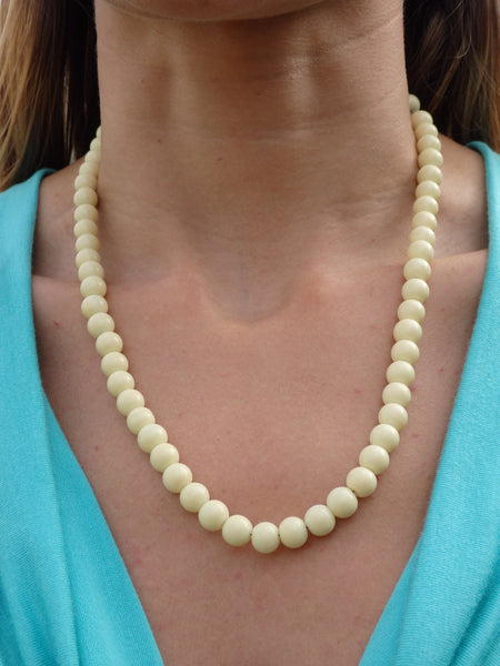 Pina Colada Beaded Necklace