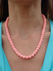 Coral Dreams Beaded Necklace