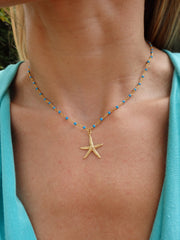 Tropical Starfish Statement Necklaces-Choose Your Color