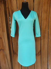 Seafoam Shift Dress
