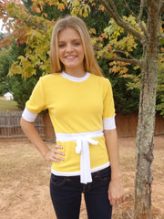 Canary Yellow Sweater