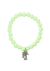 Palm Tree Beaded Bracelet