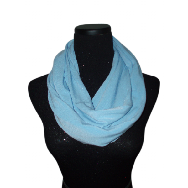 Baby Blue Infinity Scarf