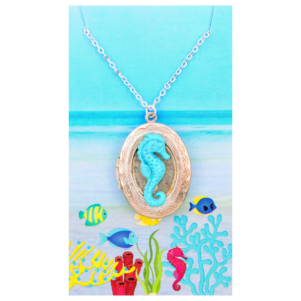 Seaside Locket Necklace