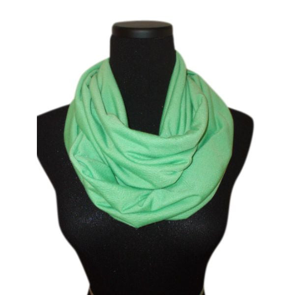 Grass Green Infinity Scarf