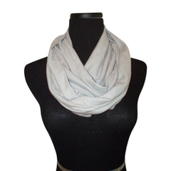 Beach Gray Infinity Scarf